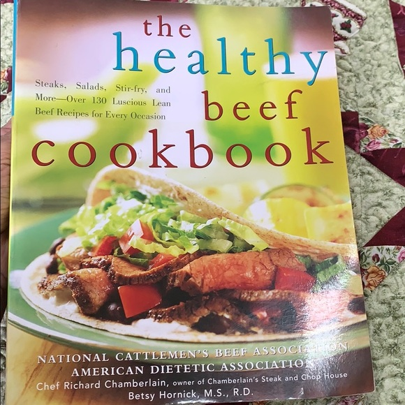 New The Healthy Beef Cookbook by Nat. Beef Assc